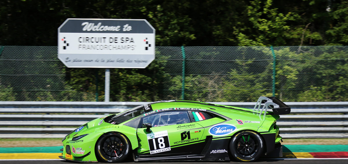 24H SPA - ANTONELLI MOTORSPORT